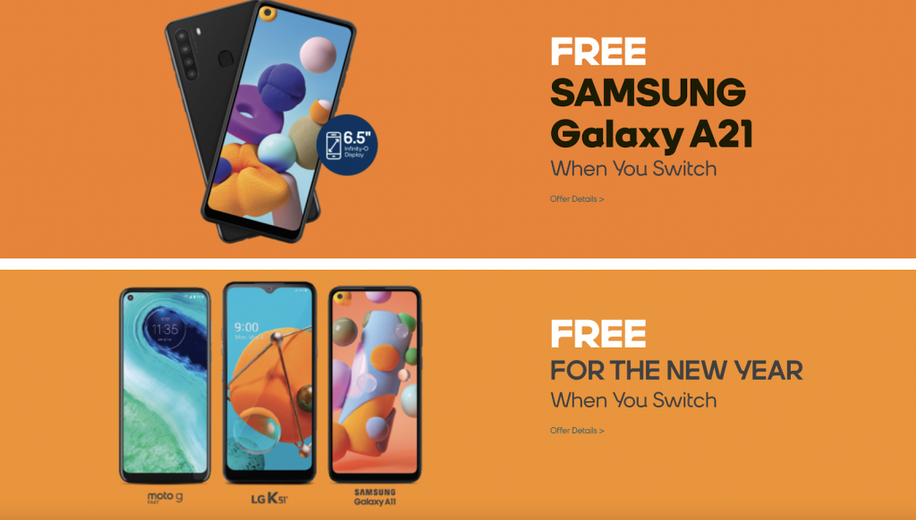 Boost Mobile incentives