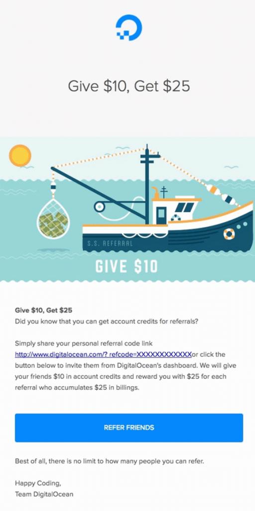 digital ocean referral email