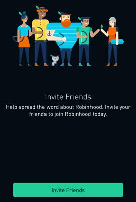 robinhood mobile referral program