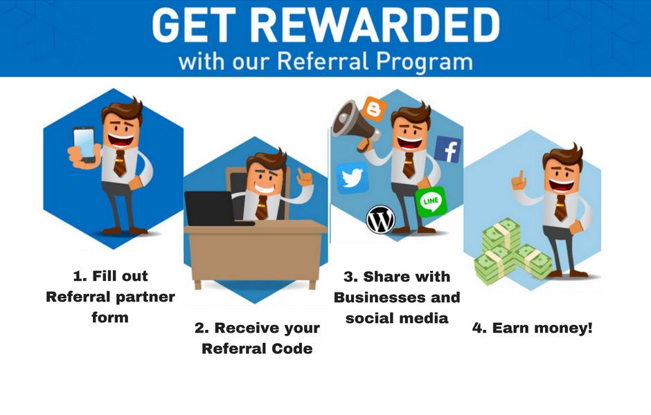 referral automation: steps of referral program